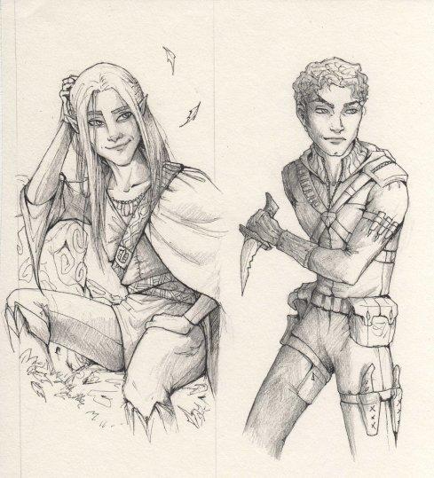 Archero y Jack by LiberLibelula