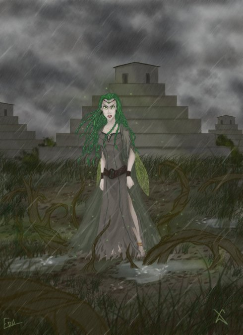 Reina Ethera, por disned26